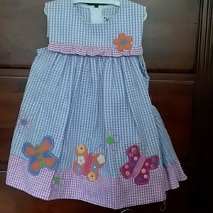 NWOT dress with matching shorts and sun bonnet